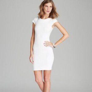 Alice + Olivia Tiffany Cream Sheath Dress